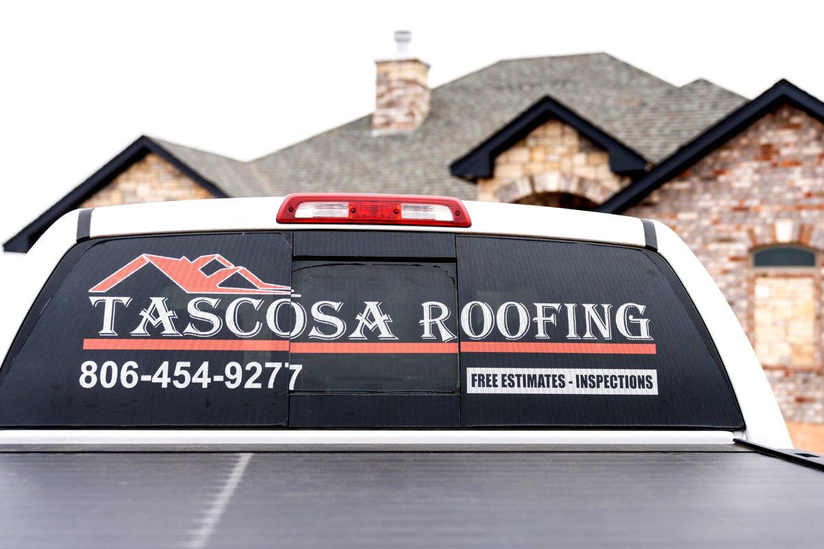 tascosa-roofing-truck-decal